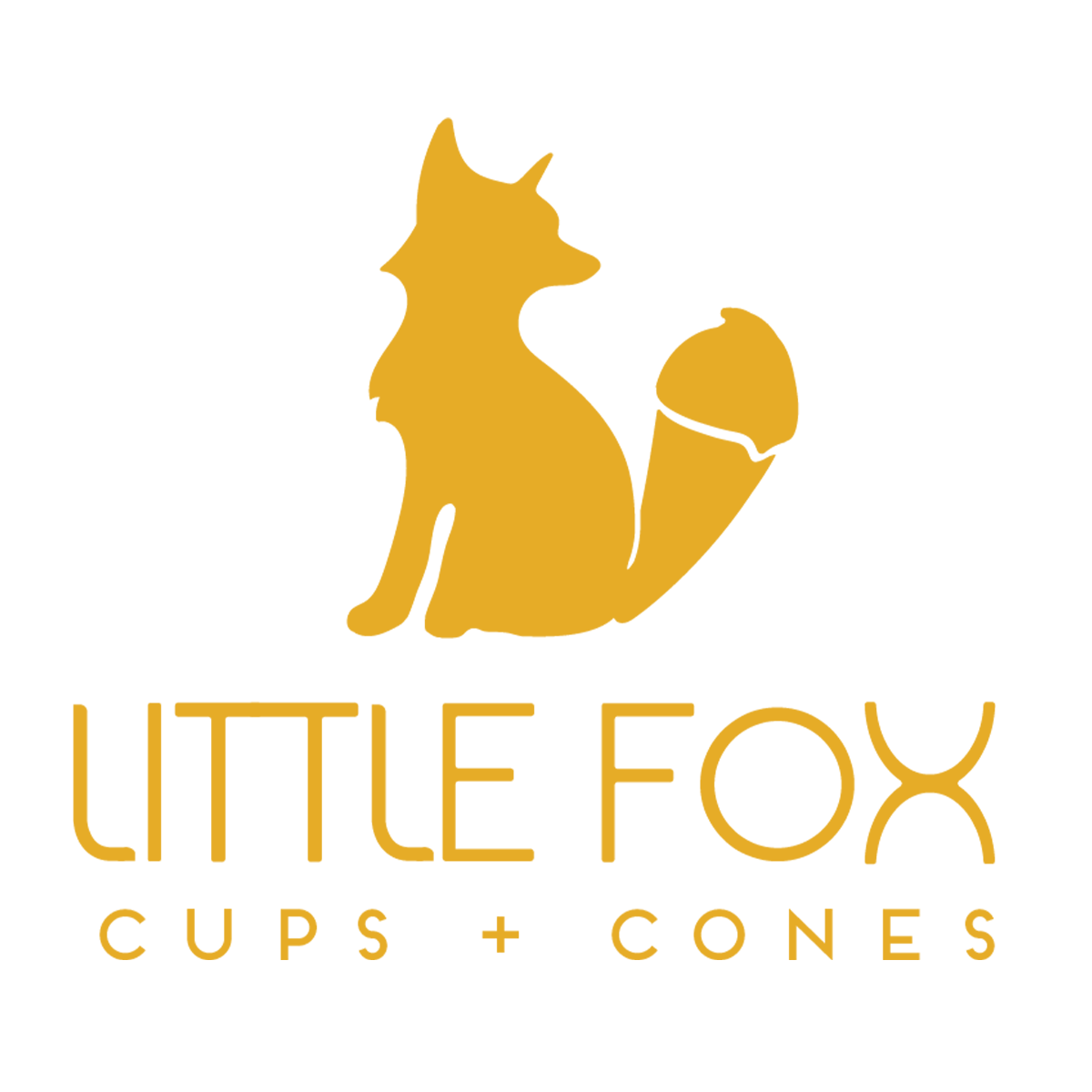 Little Fox Cup & Cones